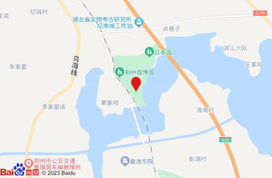 荆州园博园地图