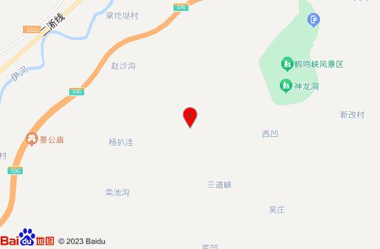 洛阳嵩县九皋山地图