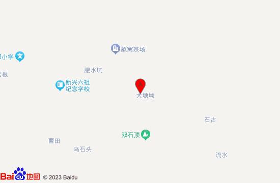 新兴象窝山温泉地图