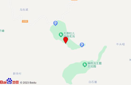 太原桃花沟地图