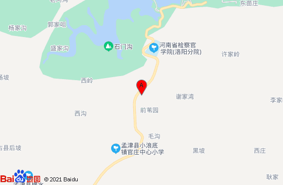 黄河小浪底风景区(洛阳+济源)地图
