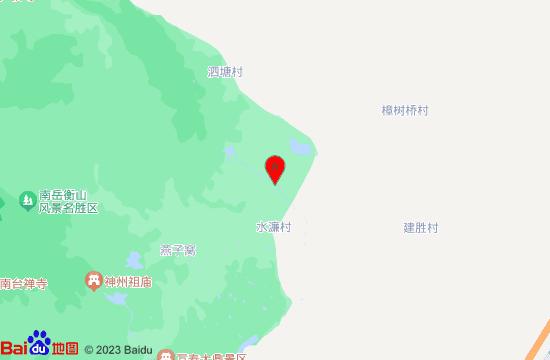 南岳飞拉达地图