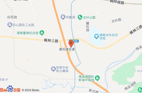长沙飞行体验馆地图