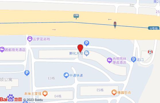 知达医药公司地理位置-百度地图