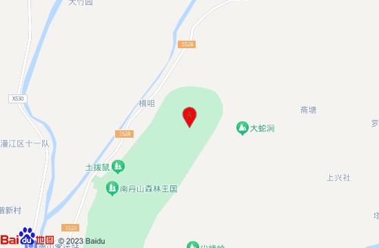 三水南丹山玻璃桥地图