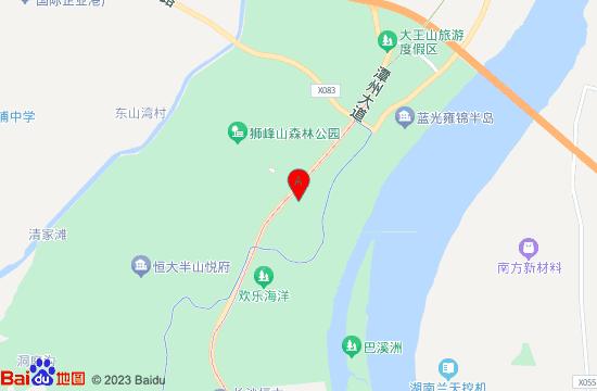 长沙湘江欢乐城欢乐雪域地图