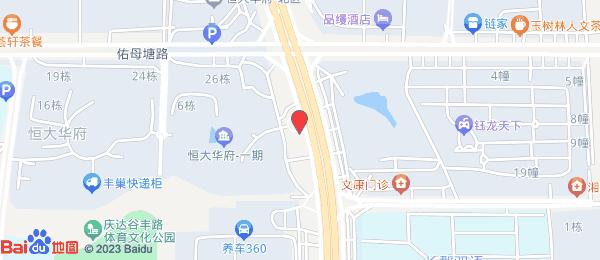恒大华府小区地图