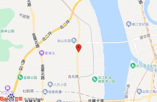 长沙汤乐泉温泉地图