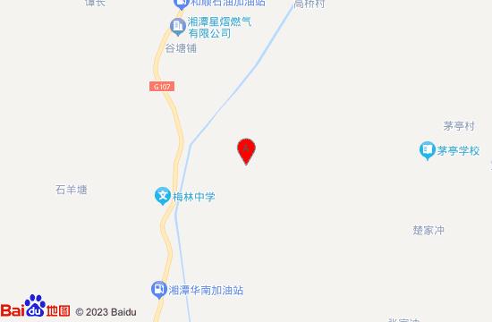 湘潭梅林桥农业公园游乐园地图