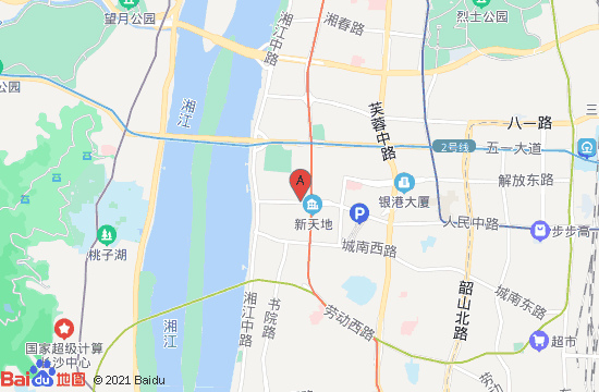 长沙梵高星空艺术馆地图