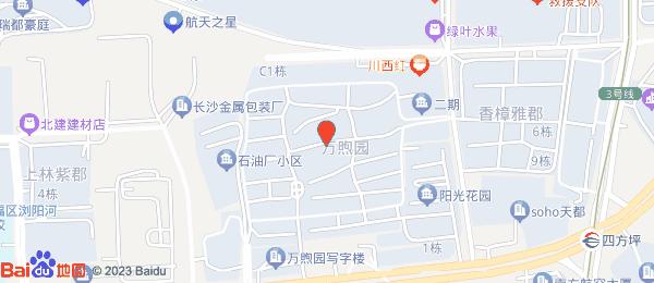 万煦园小区地图