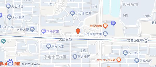 德政园润心苑小区地图