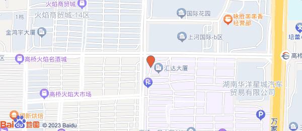 汇达国际公馆小区地图