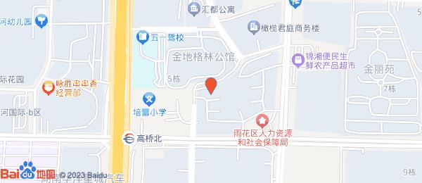 锦湘国际星城小区地图