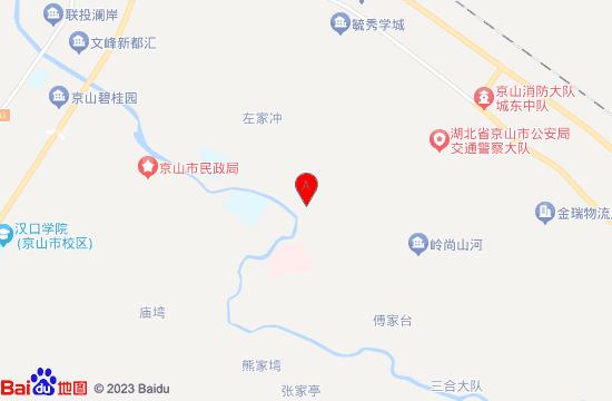 京山缘汇温泉地图