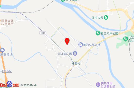 岭南和园地图