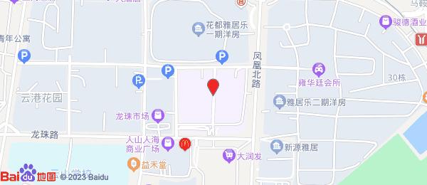 花都雅居乐-花间集小区地图