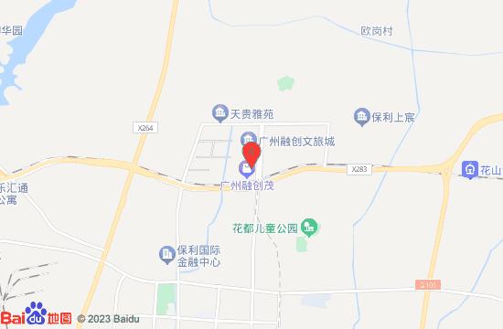 广州融创水世界地图
