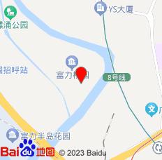 广州熙德公寓(财富公馆店)位置图