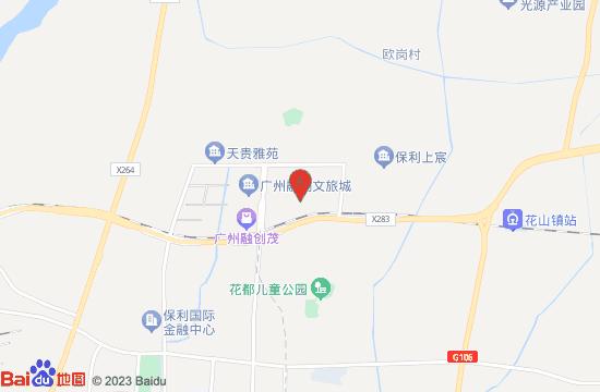 广州融创乐园地图