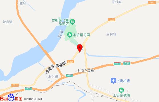 荥阳孤柏渡樱花园交通地图