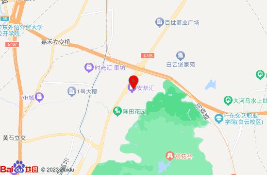 广州欢乐舟主题乐园地图