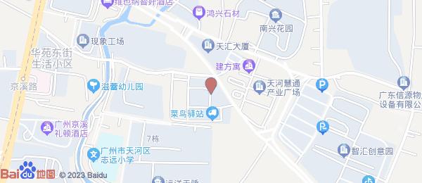 南兴花园小区地图