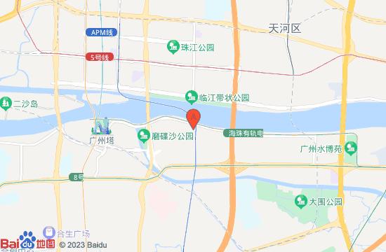 广州啤酒博物馆地图