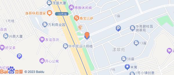 华南碧桂园小区地图