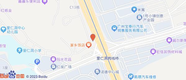 华南碧桂园翠云山小区地图