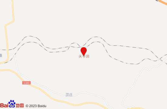 灵崖山天爷洞景区地图