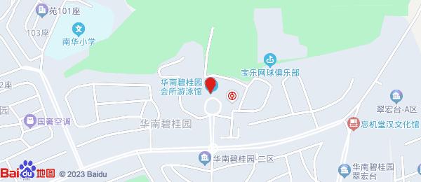华南碧桂园6米阳光小区地图