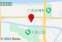 广州嘻哈酒店公寓(琶洲保利世贸店)电子地图