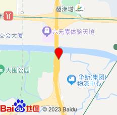 广州琶洲贵竺酒店公寓位置图
