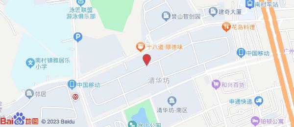 清华坊小区地图