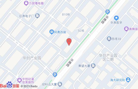 广州市番禺区石碁镇金山村华腾22号华创动漫产业园二期33栋