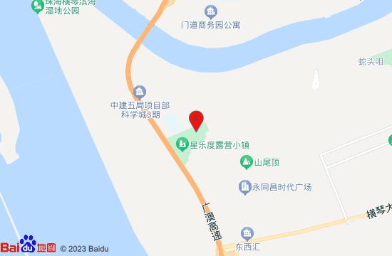 珠海星奇塔无动力世界地图