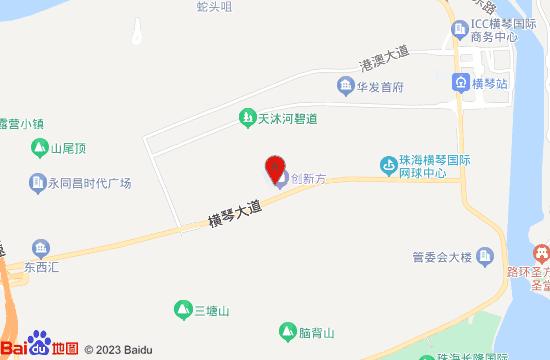 横琴国家地理探险家中心地图