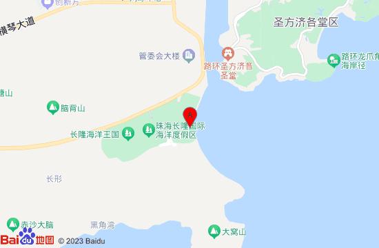 长隆横琴湾水世界地图