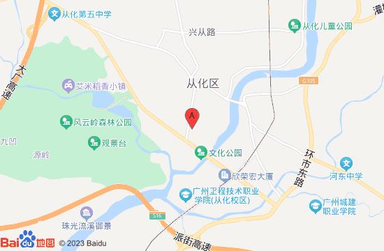 广州客天下景区地图