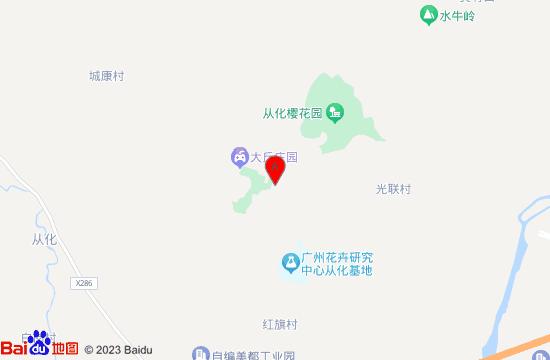 从化北纬23度8森林营地地图