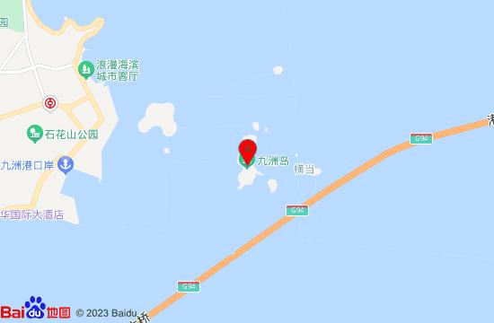 珠海九州岛地图