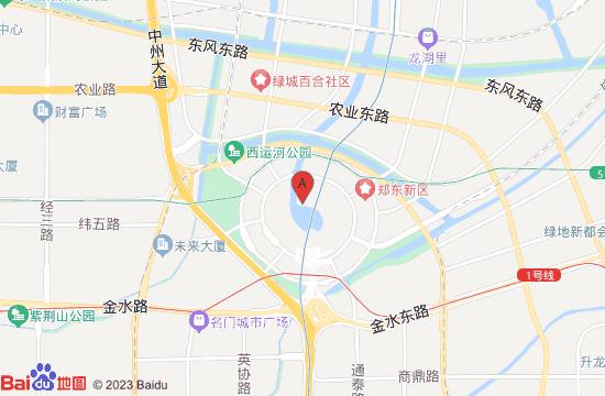 郑州艺术动物园地图
