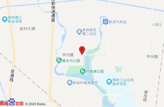 新郑城市展览馆地图