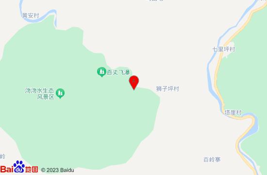 平山狮子坪蹦极地图
