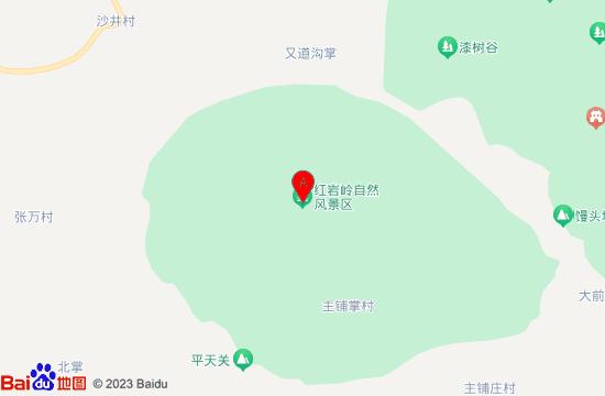 平定玉皇洞地图