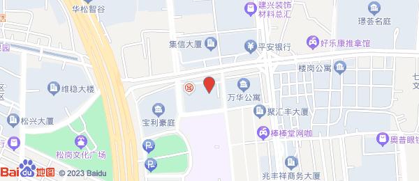 宝利豪庭小区地图