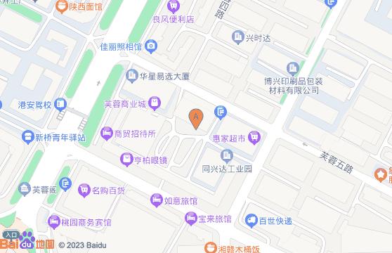 深圳市宝安区沙井街道新桥芙蓉工业区5#厂房东面二楼