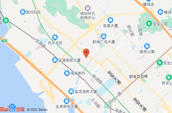 深圳乐漫x冰雪嘻市地图