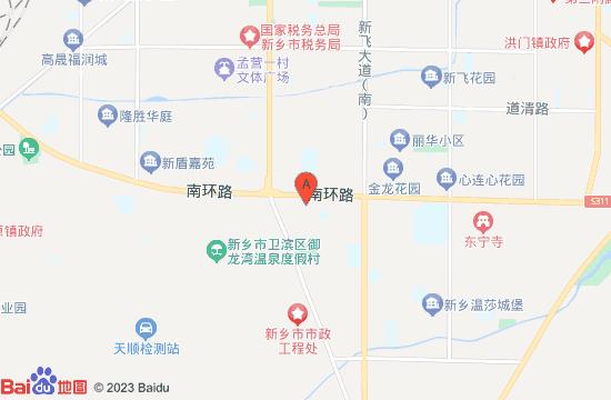 新乡亚华尊悦汤泉地图